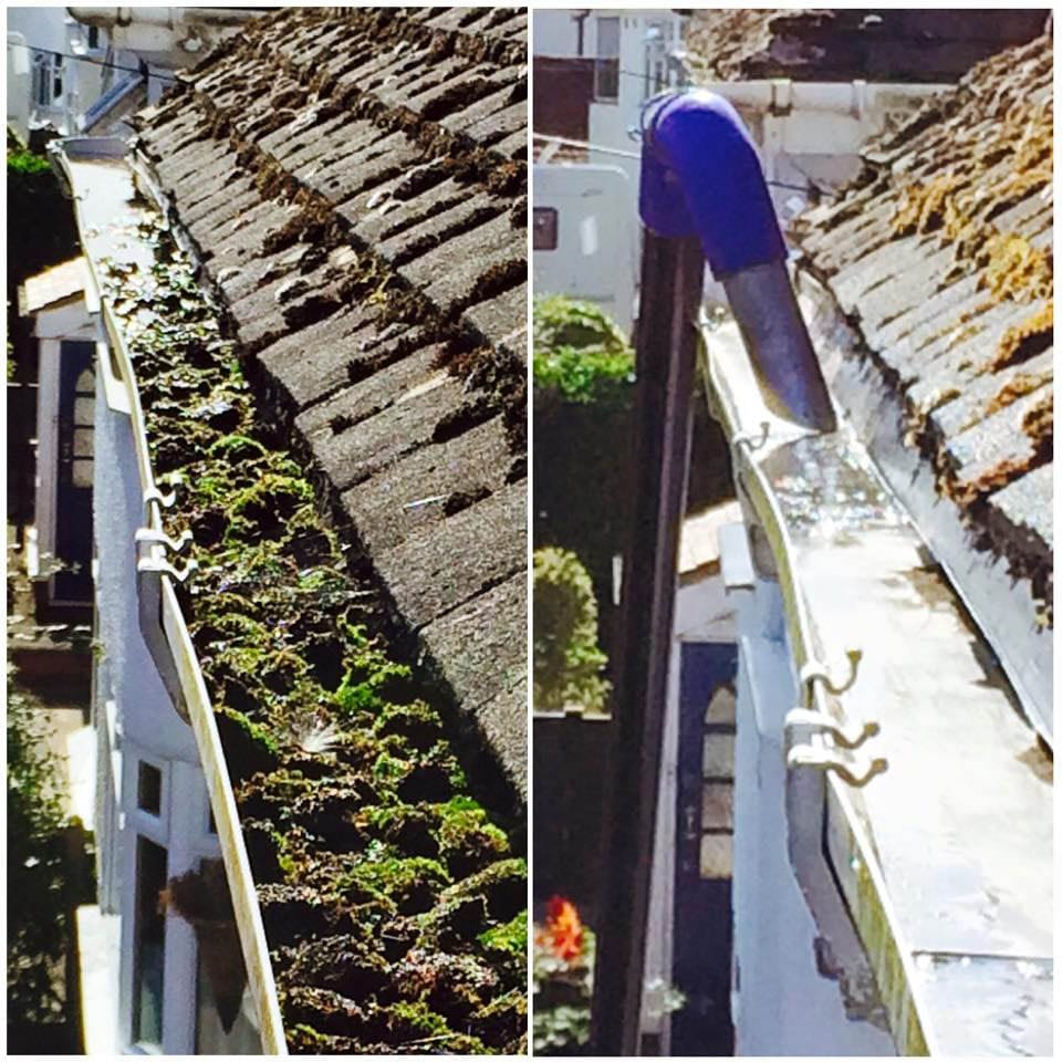Gutter Cleaning 1